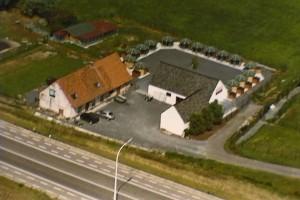 luchtfoto van de Keppekeutel in Kruishoutem.